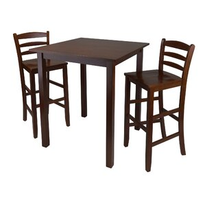 Auburn Road 3 Piece Pub Table Set by Red Barrel Studio