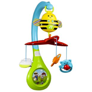 Aloysius 3-in-1 Busy Bee Mobile By Zoomie Kids