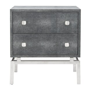 Rodriquez 2 Drawer Nightstand