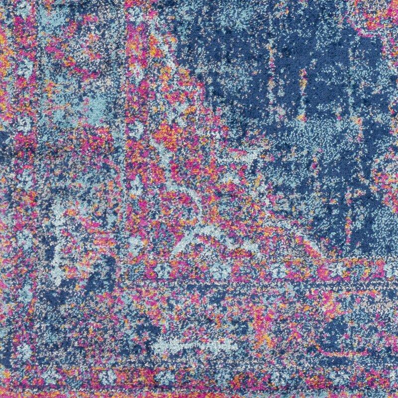 Bungalow Rose Ramiro Distressed Pink Area Rug Reviews Wayfair