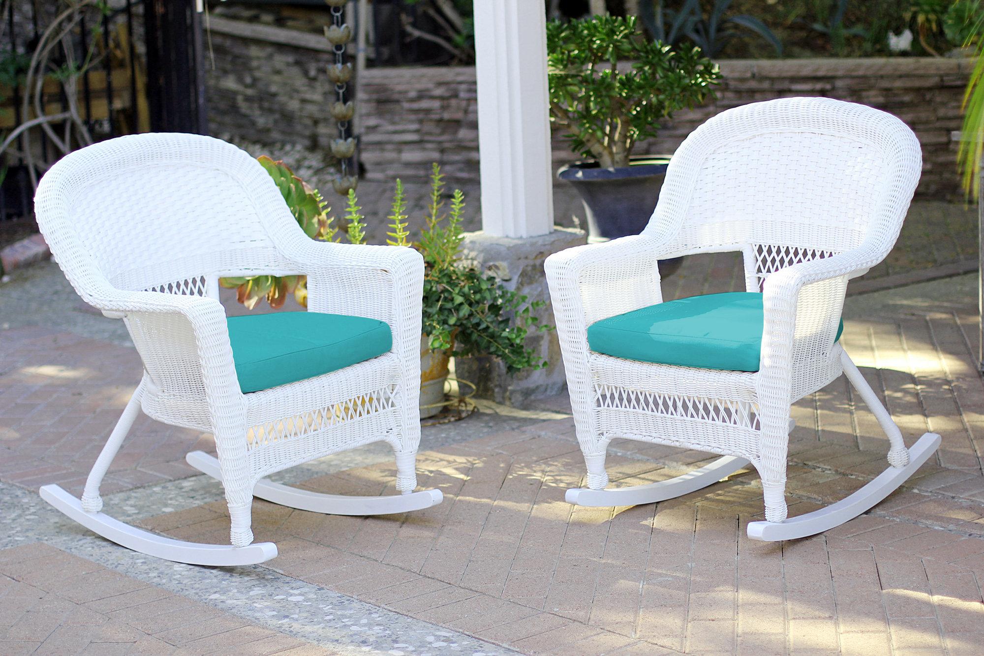 three posts burtch wicker rocking chairs reviews wayfair