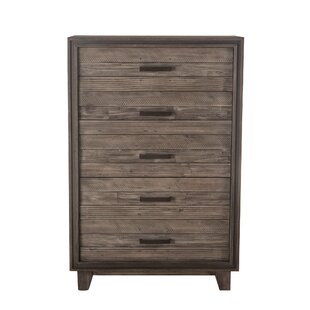 Clausen 5 Drawer Chest by Gracie Oaks