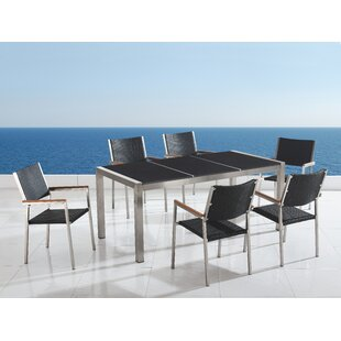 Daubenton 6 Seater Dining Set By Sol 72 Outdoor