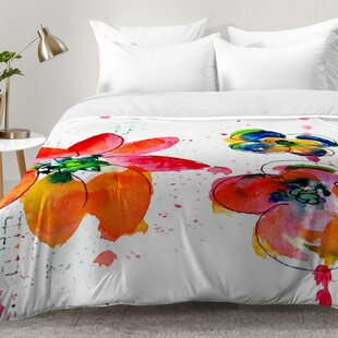 Summer In Watercolor Comforter Set