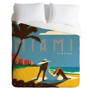 Miami Duvet Cover Set by East Urban Home