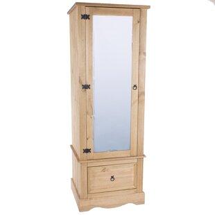 Apache 1 Door Wardrobe By Three Posts