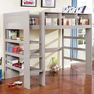 Alcantar Twin Loft Bed by Harriet Bee