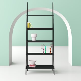 Aries Ladder Bookcase by Hashtag Home SKU:ED515080 Guide