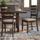Channel Island Ladder Back Side Chair in Walnut (Set of 2) by Trent Austin Design®