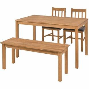 GroBartig Essgruppe Mit 2 Stühlen Und Einer Bank