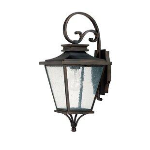 Alcott Hill Kallie 1-Light Outdoor Wall Lantern