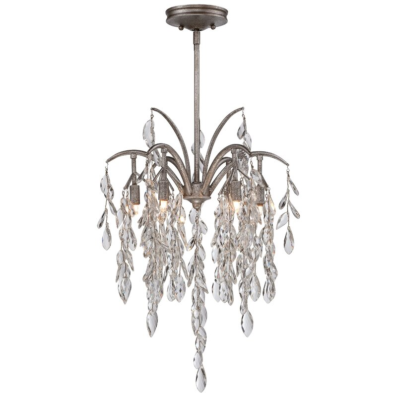 Metropolitan By Minka Bella Flora 6 Light Candle Style Classic Traditional Chandelier Wayfair
