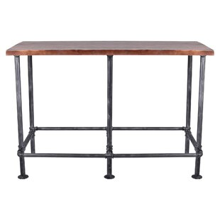 Lea Industrial Pub Table by 17 Stories