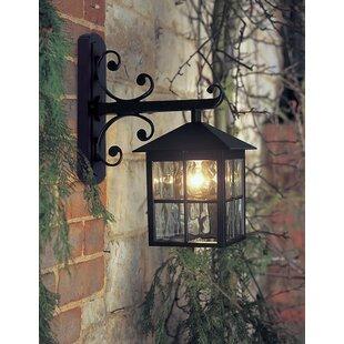 Charlton Home Popovich Down Outdoor Wall Lantern
