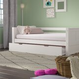 Burkley Twin Panel Bed with Trundle by Mack & Milo™