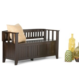 Mayna Wood Storage Bench