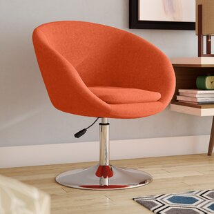Helmuth Swivel Barrel Chair