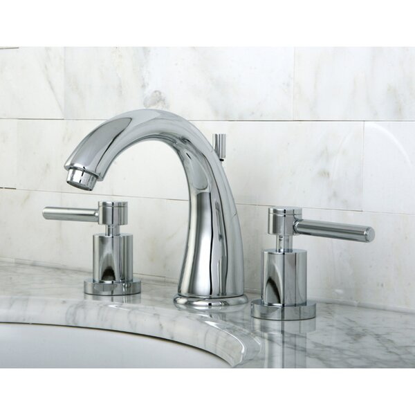 Kingston Brass Concord Widespread Bathroom Faucet with ...