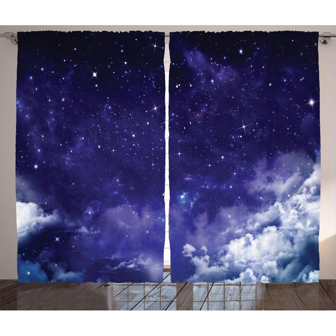 Pencil Pleat Room Darkening Thermal Curtains