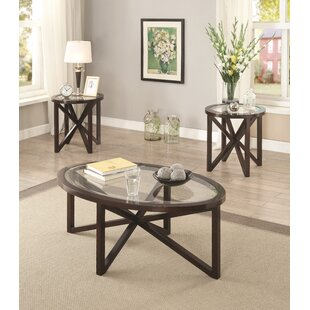 Ahumada 3 Piece Coffee Table Set
