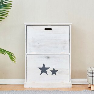Star 6 Pair Flip Down Shoe Storage By House Of Hampton