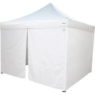 10 Ft. W x 10 Ft. D Commercial Grade Sidewalls Canopy by Caravan Canopy