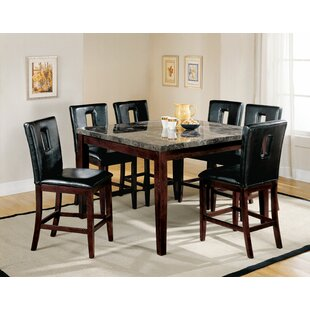 Loveless 7 Piece Pub Table Set Red Barrel Studio