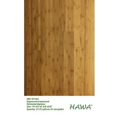 """5-3/8"""" Engineered Bamboo Flooring Hawa Bamboo"""