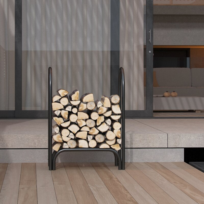 Indoor Outdoor Firewood Shelter Log Rack