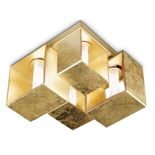 ZANEEN design Domino 4-Light Flush Mount