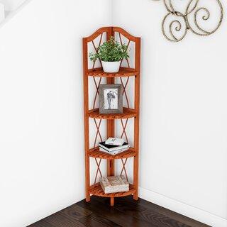 Alcala Folding Corner Bookcase by August Grove SKU:AD116731 Price Compare