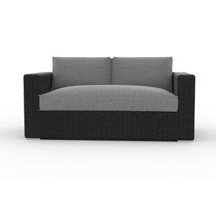 Toja Patio Furniture Yorkville Loveseat with Cushions