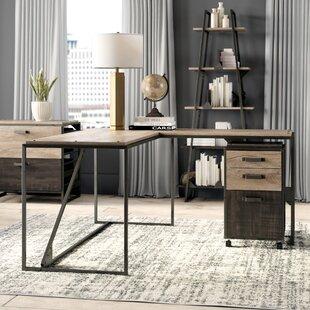 Greyleigh Edgerton 4 Piece L-Shaped Desk Office Suite