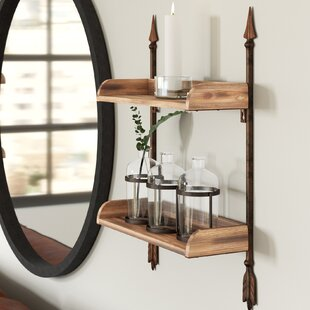 Alrick Arrow Accent Shelf
