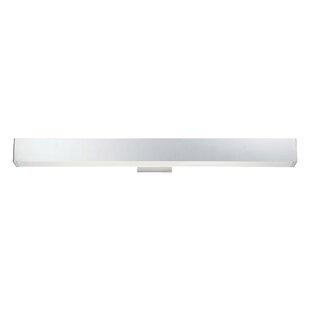 Latitude Run Briley Rectangular White 1-Light LED Bath Bar