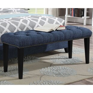 Lanza Upholstered Bench by Red Barrel Studio