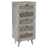 Abbotstown 5 Drawer Standard Dresser by Bungalow Rose