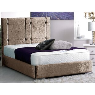 Review Uma Upholstered Bed Frame