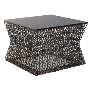 Weaved Hourglass Coffee Table by Phillips Collection