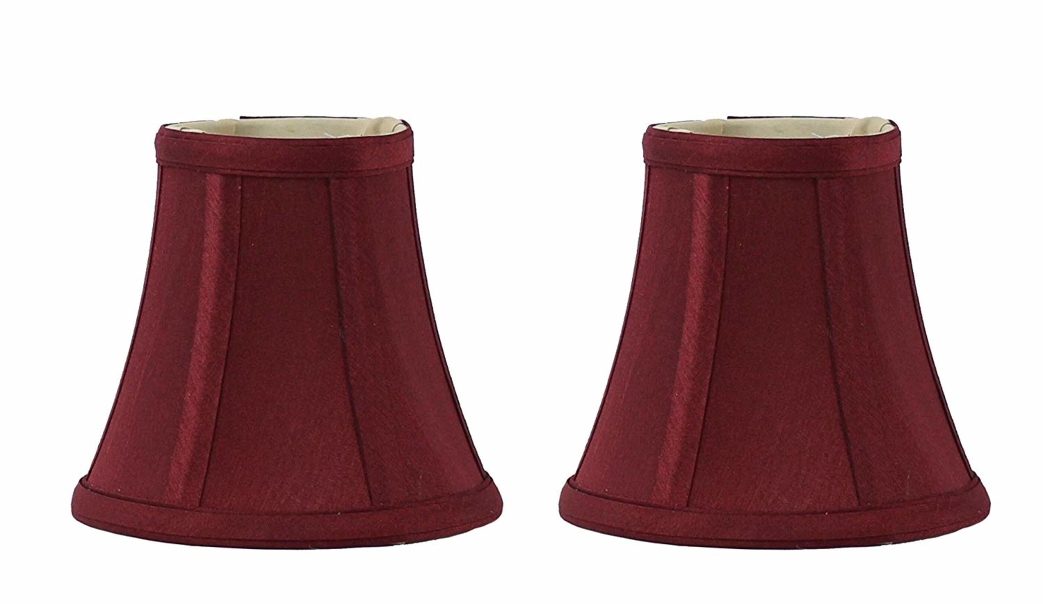 Red Barrel Studio Silk Shantung Bell Candelabra Shade Clip On Reviews Wayfair