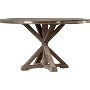 Knaresborough Solid Wood Dining Table by Three Posts Great price