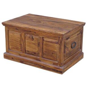Trenton Wooden Panel Large Blanket Box