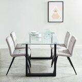 Rosanna Contemporary 5 Piece Dining Set by Wrought Studio™