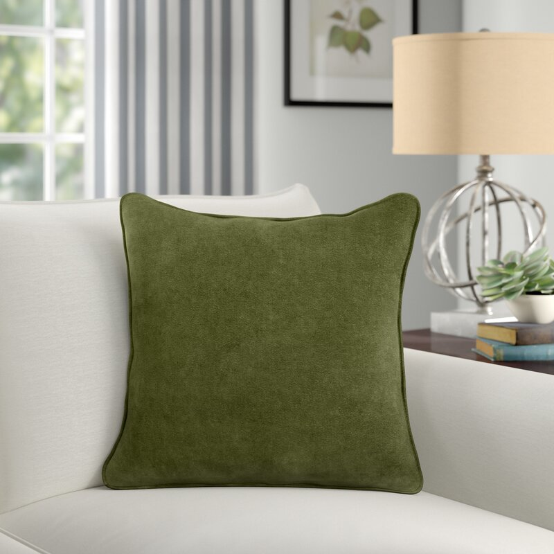 """Rollins Cotton 18"""" Throw Pillow Cover"""