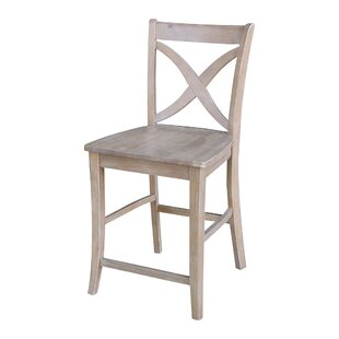 Angie 24 Bar Stool by One Allium Way Great price