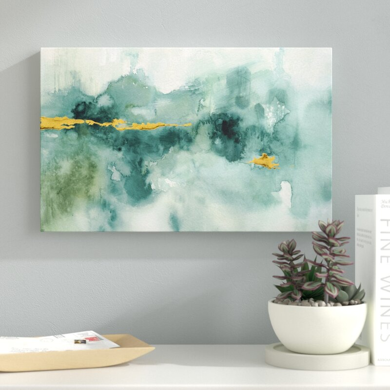 Wolf Peaks 100/% Cotton Giclee Fine Art Print Geometric Abstract Wall Decor