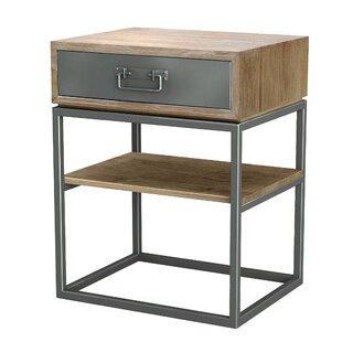 Williston Forge Hinkel 1 Drawer Nightstand