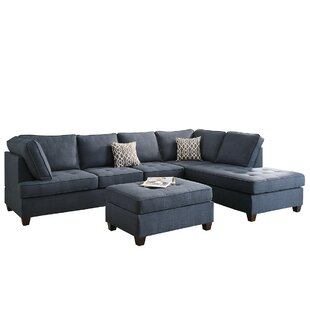 Allenhurst Sectional with Ottoman by Charlton Home