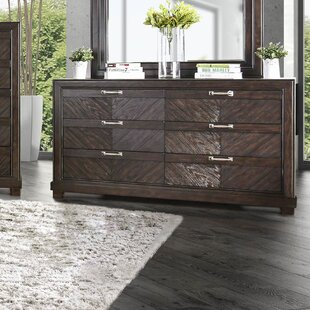 Wrought Studio Gilstrap 6 Drawer Double Dres..