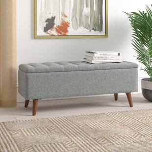 Dietz Upholstered Storage Bench by George Oliver